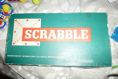 Scrabble Game - Complete - From Spear's Games • 2.50£