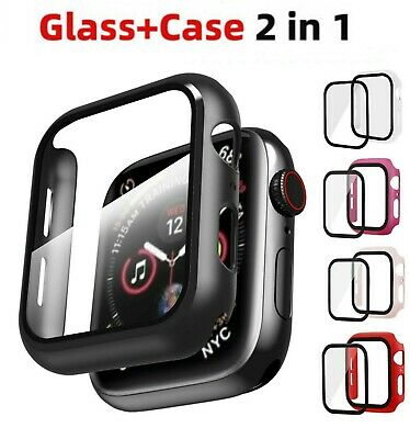$ CDN3.67 • Buy For Apple Watch Series 6/SE/5/4 40/44mm Full Screen Protector Cover Hard Case LD