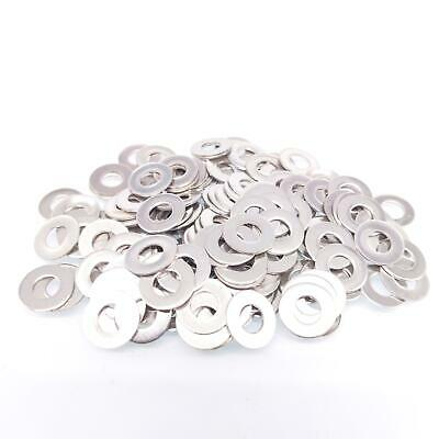 $10.26 • Buy 1000pcs M3 Stainless Steel Flat Washers