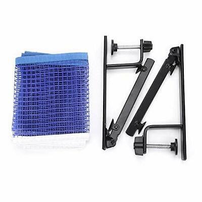 Alomejor Table Tennis Net Portable Nylon Ping Pong Net With Metal Clamp Posts • 24.42£