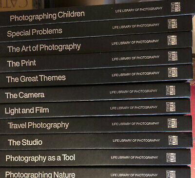 Time Life Library Of Photography 11 Books In Good Condition. • 35£