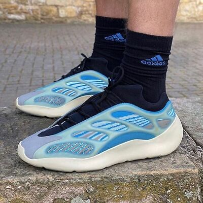 $ CDN1122.07 • Buy Adidas Yeezy 700 V3 Arzareth Blue Mens Shoes Kanye West Authentic Boost G54850
