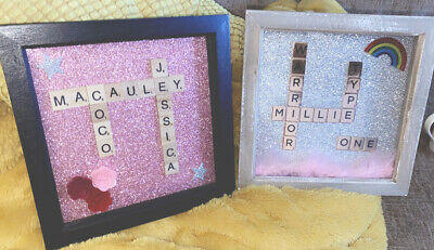 Personalised Scrabble Picture Frames • 13£