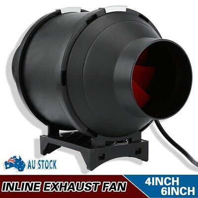 AU63.99 • Buy 4  6  Inline Exhaust Fan Ventilation Tube Duct With Speed Controller AU