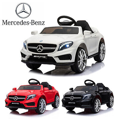 Electric Ride On Car 12V Kids Licensed MERCEDES BENZ Remote Control Motors Toys • 105.99£