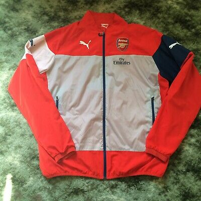 Arsenal Windbreaker Zip Up Jacket (XL) • 15£