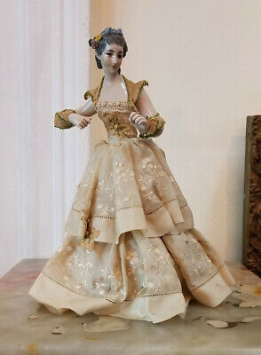 $ CDN297.33 • Buy Antique 19th Cent German Porcelain Figurine Dressed .