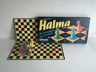 Vintage Spears Games Halma Board Game 1972 Complete • 10.95£