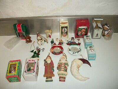 $ CDN23.68 • Buy Lot Of Vintage Christmas Ornaments & Decorations Tree Decor