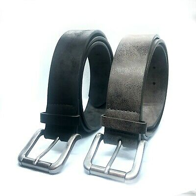 Matinee New Men's PU Leather Belts Buckle Belt For Jeans Big✅ Tall✅ King✅ Sizes • 5.95£