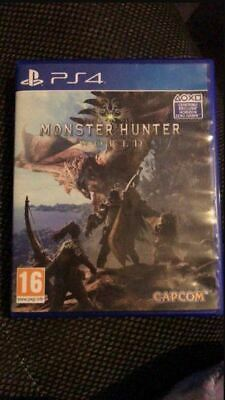 AU31.49 • Buy Jeu PS4 Monster Hunter World