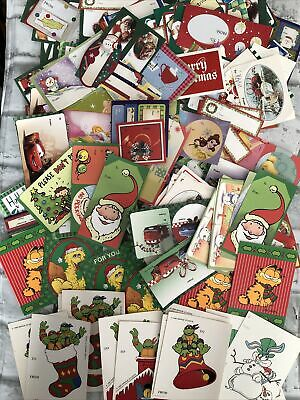 $ CDN19.74 • Buy Lot Of Several Vintage Christmas Gift Tags And Stickers