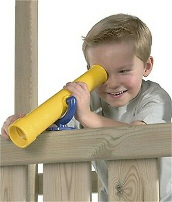 £29.99 • Buy Telescope Spyglass For Children Play Tower Jungle Gym Treehouse Yellow Playhouse