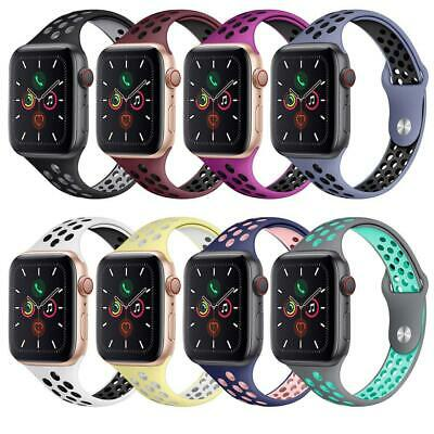 AU9.48 • Buy For Apple Watch Nike Band Silicone IWatch Series 6 SE 5 4 3 40mm 44mm 38mm 42mm