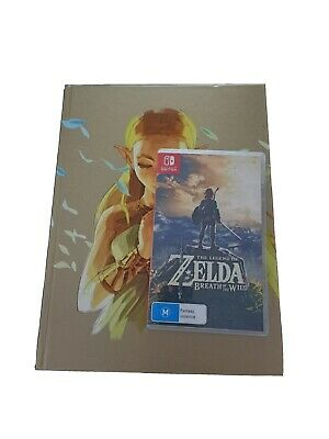 AU80 • Buy The Legend Of Zelda: Breath Of The Wild Switch And New Unused Official Guide.