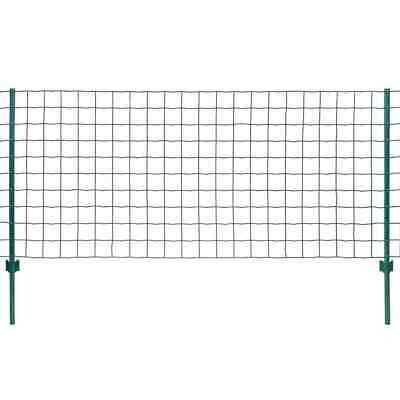 VidaXL Euro Fence Set 20x0.8m Steel Green Outdoor Garden Patio Wire Mesh Panel • 78.99£