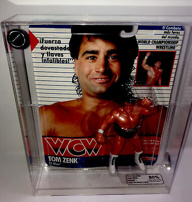 $ CDN250.45 • Buy WCW Galoob Tom Zenik Wrestling Figure MOC Graded Fg Afa Cfa Ukg Carded