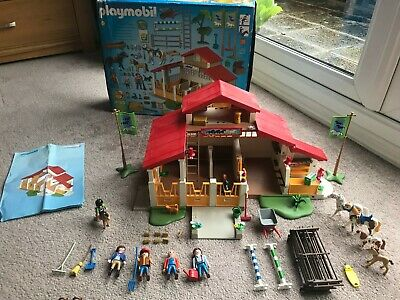 Playmobil 4190 Horse Riding Stables With Figures And Accessories • 10.99£