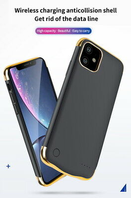 External Battery Case For IPhone X/XS XR 11 PRO MAX Slim Charging Power Cover UK • 17.95£