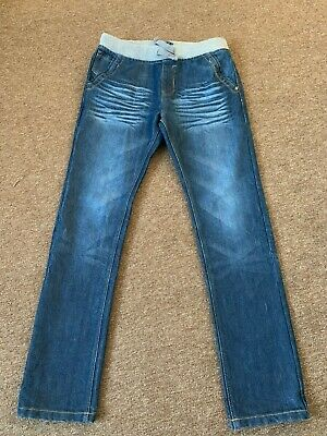 Blue Zoo Boys Jeans With Soft Rib Waistband, 13-14yrs IMMACULATE • 7£