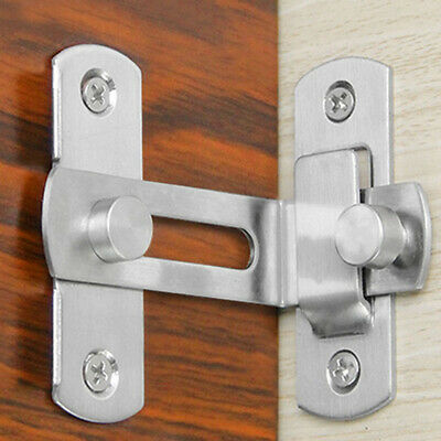 Slide Bolt Lock Latch Doors Shed Bathroom - Small -- Large Brass-silver • 3.99£