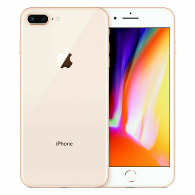 Apple IPhone 8 Plus - 256GB - Gold (O2) A1897 (GSM) • 229£