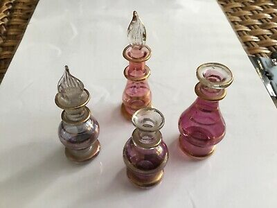 Egyptian Glassperfume Bottles • 3.60£