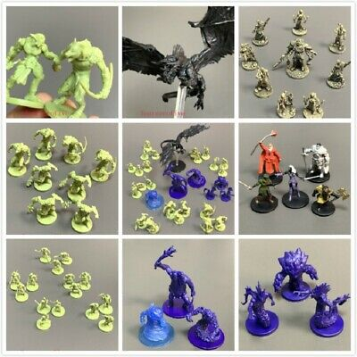 AU6.36 • Buy Lot Dungeons & Dragons Warriors Monster Board Game Miniatures D&D Figure