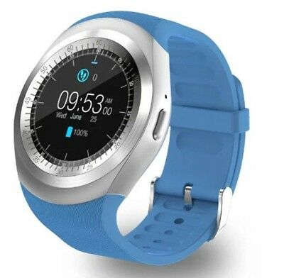 Blue Smart Watch Call & Receive Phone Calls Music Player For Android/iOS G38 • 18.64£
