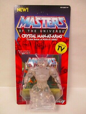 $22.45 • Buy New Motu Vintage Coll Masters Of The Universe Super7 5.5  Crystal Man-at-arms