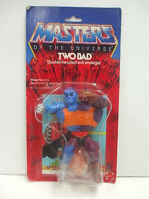 $299.95 • Buy Vintage Carded He-Man Masters Of The Universe TWO BAD Action Figure MOC  Sealed