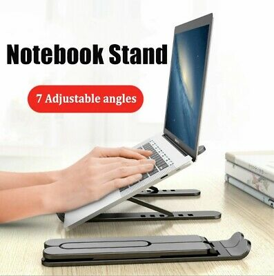 Adjustable Foldable Laptop Stand Notebook Holder For Macbook Pro Air IPad DELL • 11.99£