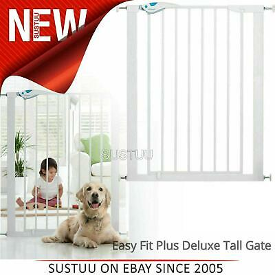 £43.26 • Buy Lindam Easy Fit Plus Deluxe Tall Extra High Pressure Fit Safety Gate 75-82cm