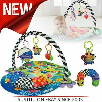Lamaze Freddie The Firefly Baby Gym 3 In 1 Playmat│Flexible Arch+4 Dangling Toys • 32.66£