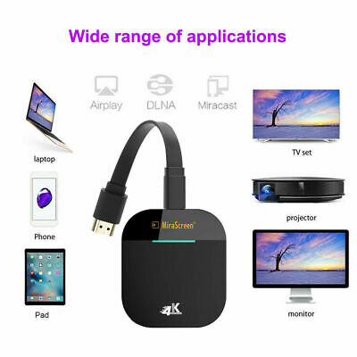 WIFI 2.4G 5G Miracast Wifi Dongle Display Airplay HDMI Wireless Receiver Adapter • 16.88£