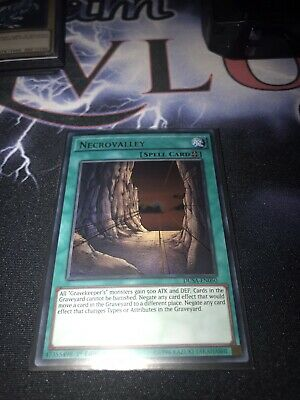 Necrovalley DUSA EN050 Ultra Rare 1st Edition Yugioh Pack Fresh • 4£
