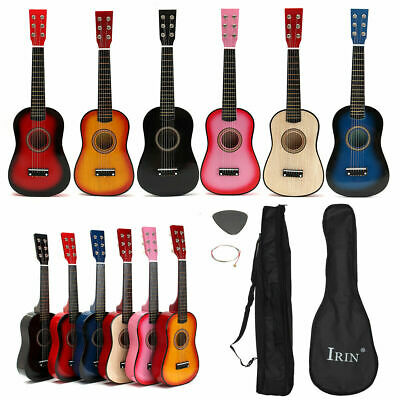 21inch/23inch/25inch Wooden Acoustic Guitar 6 Strings For Kids Children Toy Gift • 23.17£