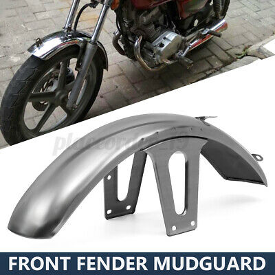 Motorcycle Stainless Steel Front Fender Mud Guard Mudguard For Honda CM125 • 16.99£