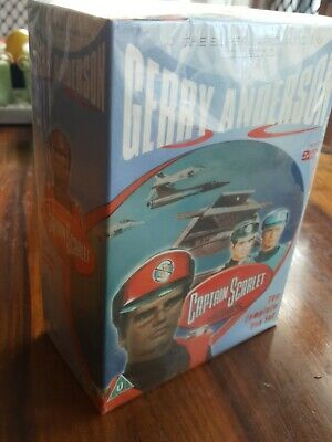 Captain Scarlet And The Mysterons (Supermarionation Collection) New Sealed  • 19.99£