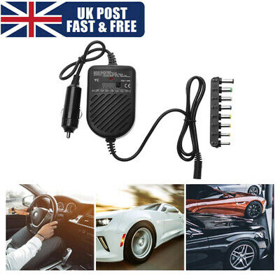 £11.69 • Buy Universal 80W DC Adapter Power Supply Car Laptop Charger For Car Laptop Notebook