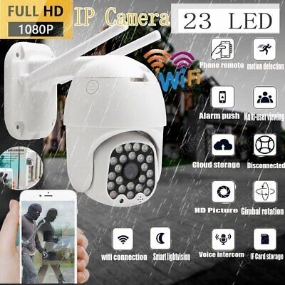 View Details 1080P IP Wireless Camera IR WIFI Spy Cam Smart Outdoor Home Security HD CCTV PTZ • 33.99£