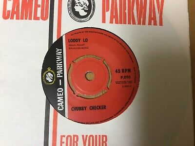 Chubby Checker ~ Loddy Lo  ~ Excellent Condition ~ New Repro Sleeve ~ 1963 • 5.99£