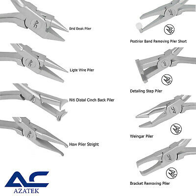 £11.99 • Buy Orthodontic Pliers For Arck Forming, Bending, Bracket/Posterior Band Removing