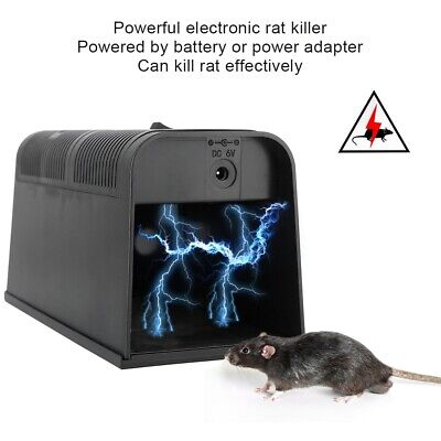 £15.66 • Buy Electronic Rat Killer High Voltage Electric Shock Mice Mouse Rodent Killer Trap