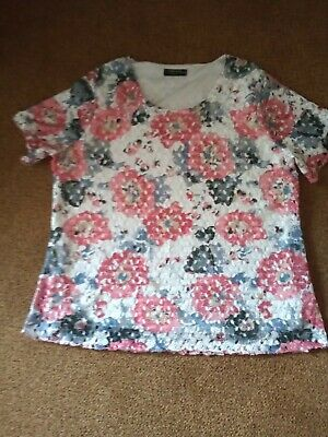 £5 • Buy Forever By Michael Gold Ladies Top, Size XL (excellent Condition)