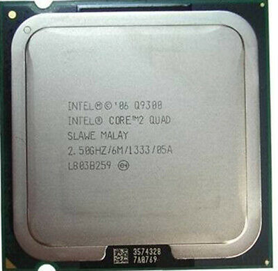 $ CDN16.38 • Buy Intel Core 2 Q9300 Q9400 Q9450 Q9500 Q9505 Q9550 Q9650 LGA775 Processor CPU