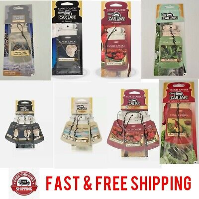 Yankee Candle Car Jar Air Freshener - Cardboard - Various Scents Fragrances • 3.59£