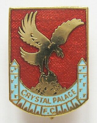 £12.49 • Buy CRYSTAL PALACE - Excellent Vintage Shield Style Enamel Football Pin Badge