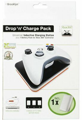 Brooklyn Induction Station+Battery For Xbox 360 Controller Charger Docking • 10.46£