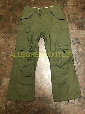 $99.90 • Buy US Military Vintage M-65 Sateen Field Pant Trousers Cold Weather OD Med/Reg NEW